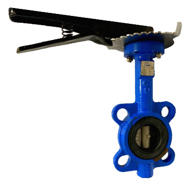 ANSI 150# Cast Iron Wafer Type Butterfly Valve